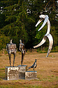 Westcott Bay Sculpture Park, San Juan Island, Washington.