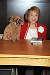 "Lee Phillip Bell and her dog Joy  attends the book signing of "" The Young & Restless LIfe of William J Bell"" by Michael Maloney and Lee Phillip Bell  on June 21, 2012 at The Barnes & Nobles in The Grove in Los Angeles."