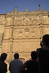 Main Facade University; Salamanca; Spain