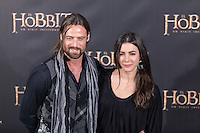 """illiam Miller attends """"The Hobbit: An Unexpected Journey"""" premiere at the Callao cinema- Madrid."""
