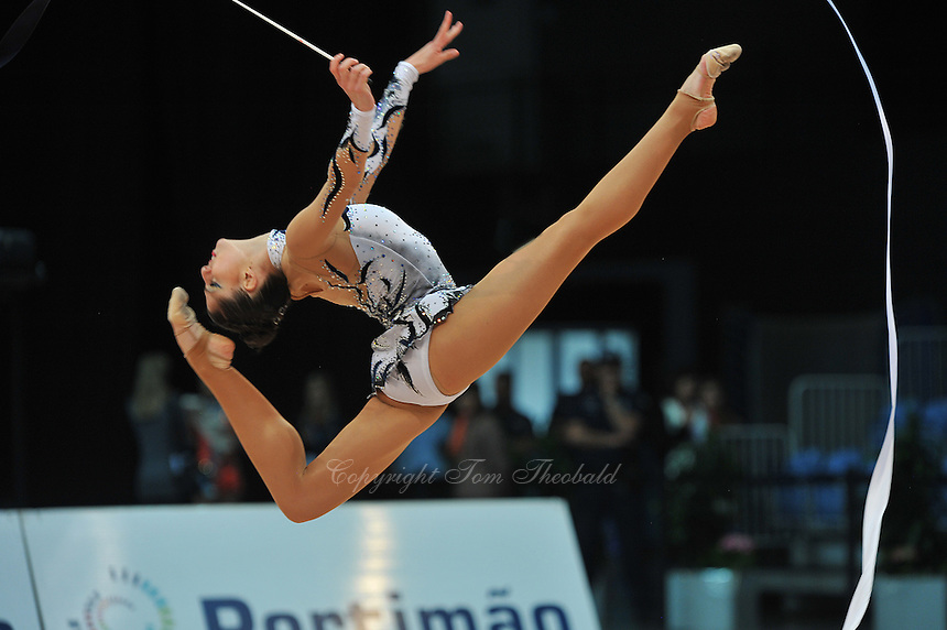 Carolina Rodriguez of Spain performs at 2011 World Cup at Portimao, Portugal on April 30, 2011.  .