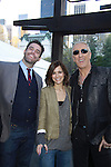 Douglas Webster, Rebecca Budig & Dee Snider at the 2012 Skating with the Stars - a benefit gala for Figure Skating in Harlem celebrating 15 years on April 2, 2012 at Central Park's Wollman Rink, New York City, New York.  (Photo by Sue Coflin/Max Photos)