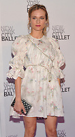 New York, NY- September 20: Diane Kruger attends the New York City Ballet 2016 Fall Gala at David H. Koch Theater at Lincoln Center on September 20, 2016 in New York City@John Palmer / Media Punch