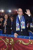 Prince Albert II of Monaco & Princess Stephanie at 39th Monte-Carlo Circus Festival Opening Night