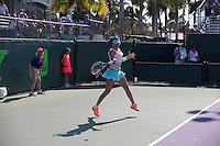 AJLA TOMLJANOVIC (CRO)<br /> <br /> Tennis - Sony Open -  Miami -   ATP-WTA - 2014  - USA  -  23 March 2014. <br /> <br /> &copy; AMN IMAGES