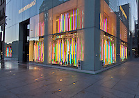 Louis Vuitton Store, 1 East 57th Street, New York City, New York, Neon