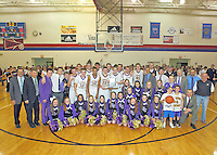 Boys BBall vs. Brebeuf - SECTIONAL - Celebration 3-8-14