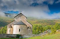 Piva Monestary and Clouds, Montenegro, Western Balkans
