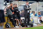 Raith Rovers v St Johnstone...12.07.14  Pre-Season Friendly<br /> Tommy Wright looks on<br /> Picture by Graeme Hart.<br /> Copyright Perthshire Picture Agency<br /> Tel: 01738 623350  Mobile: 07990 594431