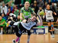 Handball Frauen Play-Off Viertelfinale 2011/2012, Frisch Auf Göppingen - Buxtehuder SV
