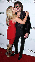 BEVERLY HILLS, CA, USA - JULY 24: Nikki Lund, Richie Sambora at the Genlux Magazine Summer July 2014 Issue Release Party held at the Luxe Hotel on July 24, 2014 in Beverly Hills, California, United States. (Photo by Xavier Collin/Celebrity Monitor)