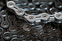 WA09450-00...WASHINGTON - Detail of bicycle chain.