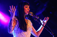 LAS VEGAS, NV - November 16, 2016: ***HOUSE COVERAGE*** Mon Laferte at Vinyl Las Vegas at Hard Rock Hotel & Casino in Las vegas, NV on November 16, 2016. Credit: Erik Kabik Photography/ MediaPunch
