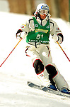 15 January 2005 - Lake Placid, New York, USA - Michael Morse representing the USA, competes in the FIS World Cup Men's Moguls Freestyle ski competition, ranking 38th for the day, at Whiteface Mountain, Lake Placid, NY. ..Mandatory Credit: Ed Wolfstein Photo.