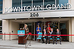 Downtown Grand has official ribbon cutting with Las Vegas Mayor Carolyn Goodmann and Seth Schorr  on 11-12-13 @ 14:15