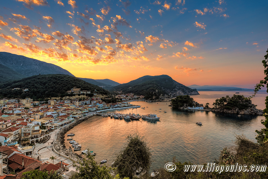 Sunrise In Parga Greece Constantinos Iliopoulos Photography