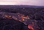 Hawaii Volcanoes National Park lava flow