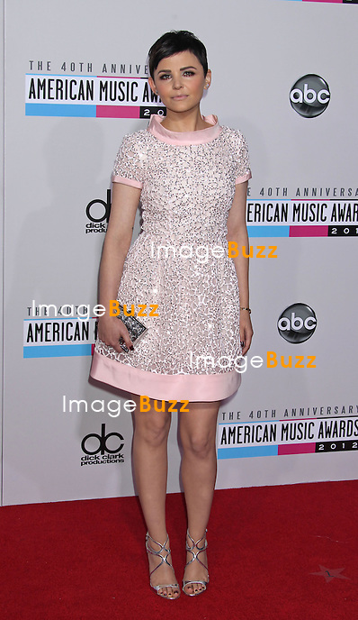 Ginnifer Goodwin, The 40th American Music Awards arrivals at the Nokia Theatre L.A. Live,. Los Angeles, November 18, 2012.