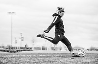 Frisco, TX - February 14, 2016: The USWNT trains in preparation for their last game of the group stage of the CONCACAF Women's Olympic Qualifying Tournament in Toyota Stadium.
