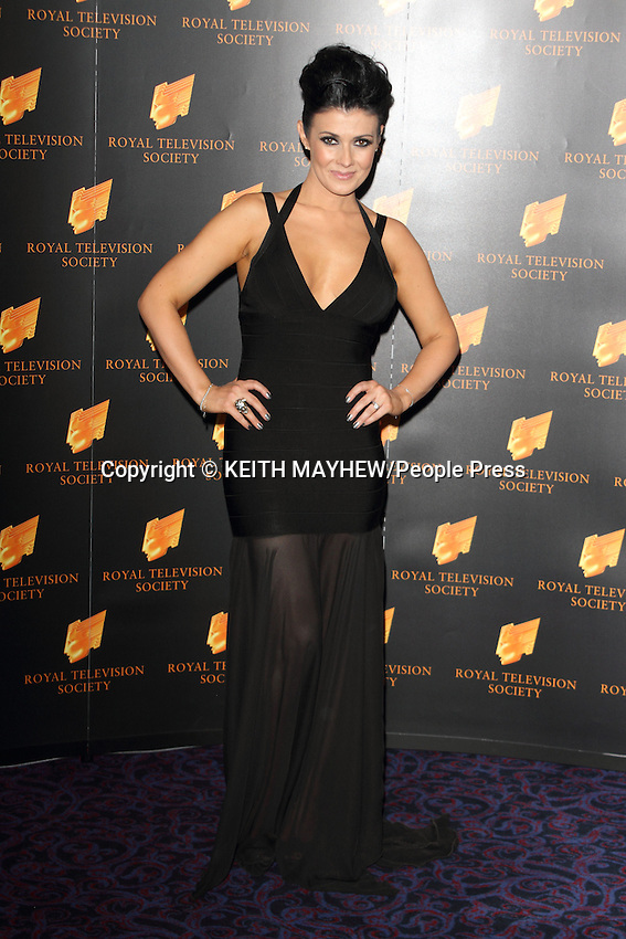 RTS Programme Awards 2013 at the Grosvenor, Park Lane, London - March 19th 2013..Photo by Keith Mayhew...
