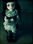 A sad looking doll