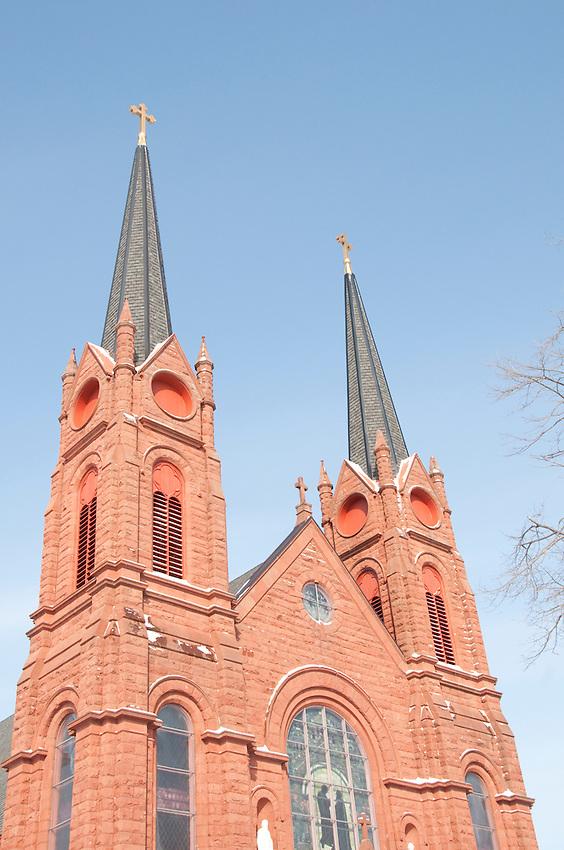 St. Paul Catholic Church in Calumet Michigan.