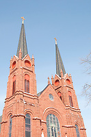 St. Paul Catholic Church in Calumet Michigan.
