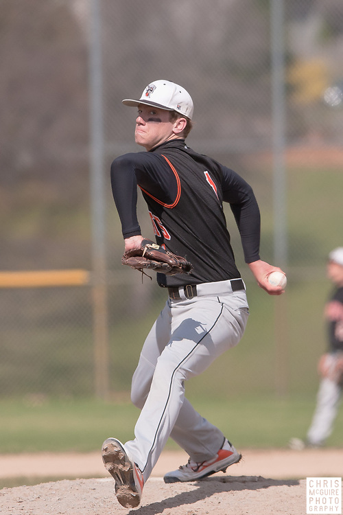 04/17/11 - Kalamazoo, MI:  Kalamazoo College baseball vs Finlandia.  Kalamazoo won the doubleheader 7-4 and 14-2.  Photo by Chris McGuire.