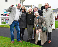 Very happy connections of Intimately after winning The Shadwell Stud Racing Excellence Apprentice Handicap (Div 1), during Afternoon Racing at Salisbury Racecourse on 18th May 2017