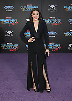 """HOLLYWOOD, CA - April 19: Chloe Bennet, At Premiere Of Disney And Marvel's """"Guardians Of The Galaxy Vol. 2"""" At The Dolby Theatre  In California on April 19, 2017. Credit: FS/MediaPunch"""