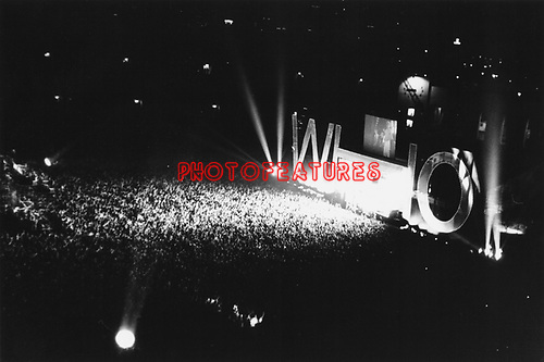 The Who 1982 at The Memorial Coliseum in Los Angeles.© Chris Walter.