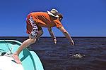 J. Nichols Rodeoing Loggerhead Turtle