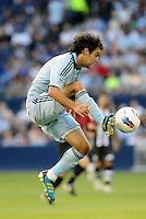Graham Zusi Sporting KC midfielder in action.