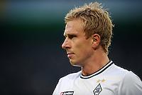 FUSSBALL   1. BUNDESLIGA   SAISON 2011/2012    15. SPIELTAG Borussia Moenchengladbach - Borussia Dortmund        03.12.2011 Mike Hanke (Borussia Moenchengladbach)