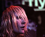 Emily Haines, Metric singer at the Barfly, Camden, May 2006