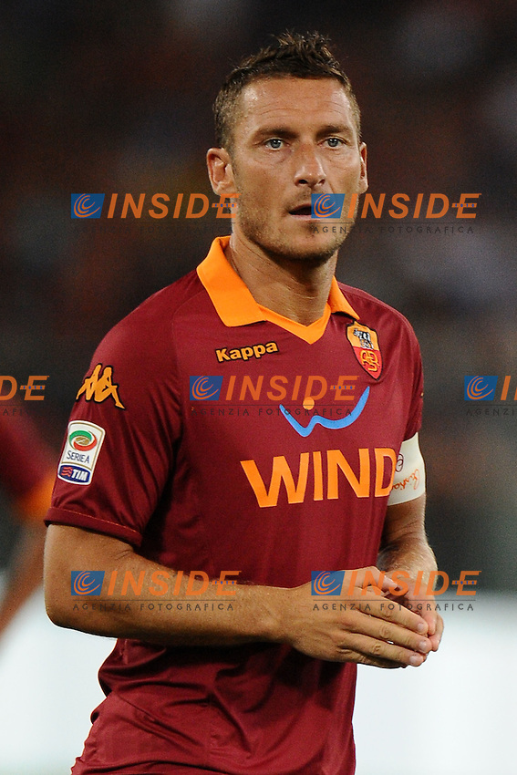 Francesco Totti (Roma).26/08/2012 Roma.Stadio Olimpico.Football Calcio 2012 / 2013 .Campionato di Calcio Serie A.Roma vs Catania.Foto Insidefoto / Antonietta Baldassarre.