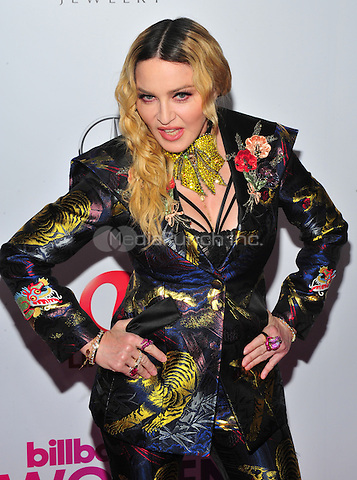NEW YORK, NY - DECEMBER 9 : Madonna at the 11th Annual Billboard's Women In Music Luncheon at Madison Square Garden in New York City on December 9, 2016. Credit: John Palmer/MediaPunch
