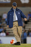 22 October 2015: UNC head coach Anson Dorrance. The University of North Carolina Tar Heels hosted the Notre Dame University Fighting Irish at Fetzer Field in Chapel Hill, NC in a 2015 NCAA Division I Women's Soccer game. UNC won the game 2-1.