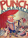 Front cover of the  Punch Almanack - 1936 , by Ernest H Shepard .....