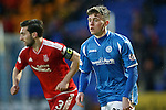 St Johnstone v Aberdeen...06.02.16   SPFL   McDiarmid Park, Perth<br /> Craig Thomson<br /> Picture by Graeme Hart.<br /> Copyright Perthshire Picture Agency<br /> Tel: 01738 623350  Mobile: 07990 594431