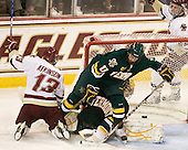 Cam Atkinson (BC - 13), Matt Marshall (Vermont - 17), Rob Madore (Vermont - 29), Paul Carey (BC - 22) - The Boston College Eagles defeated the visiting University of Vermont Catamounts 6-0 on Sunday, November 28, 2010, at Conte Forum in Chestnut Hill, Massachusetts.