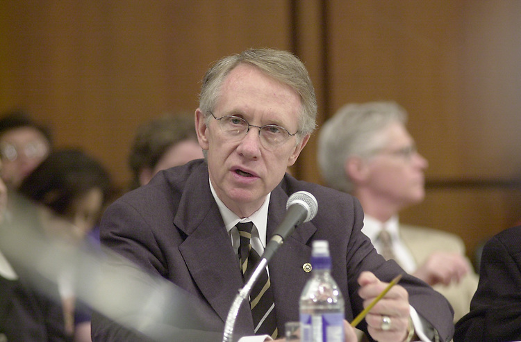 Reid H.1(DG) 051800 -- Harry Reid, D-NV., during the Senate Appropriations Committee markup.