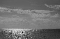 Alone<br /> From &quot;Miami in Black and White&quot; series. Miami, 2009