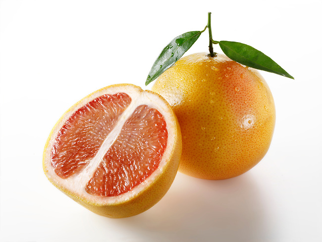 Red Grapefruit Citrus Fruit food photography, picture & image