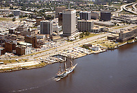 1979 January ..Redevelopment.Downtown South (R-9)..NORFOLK WATERFRONT.WITH TALL SHIP..NEG#.NRHA#..