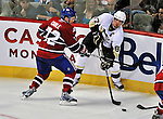 21 September 2009: Pittsburgh Penguins' center Sidney Crosby in action during a pre-season game against the Montreal Canadiens at the Bell Centre in Montreal, Quebec, Canada. The Canadiens edged out the defending Stanley Cup Champions 4-3. Mandatory Credit: Ed Wolfstein Photo