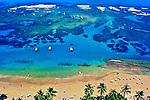 Aerea da Praia do Cupe em Porto de Galinhas. Pernambuco. 2007. Foto de Marcia Minillo.