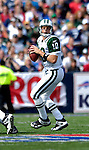 30 September 2007: New York Jets quarterback Chad Pennington in action against the Buffalo Bills at Ralph Wilson Stadium in Orchard Park, NY. The Bills defeated the Jets 17-14 handing the Jets their third loss of the season...Mandatory Photo Credit: Ed Wolfstein Photo
