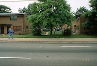 1993 May 19..Assisted Housing..Calvert Square..BEFORE RENOVATIONS.ROLL 9-1.VIRGINIA BEACH BLVD .GOING EAST.5TH OPENING.855 & 847...NEG#.NRHA#..