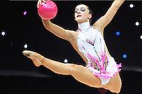 "February 7, 2014 - Tartu, Estonia - OLGA BOGDANOVA of Estonia performs at ""Miss Valentine 2014"" international tournament."